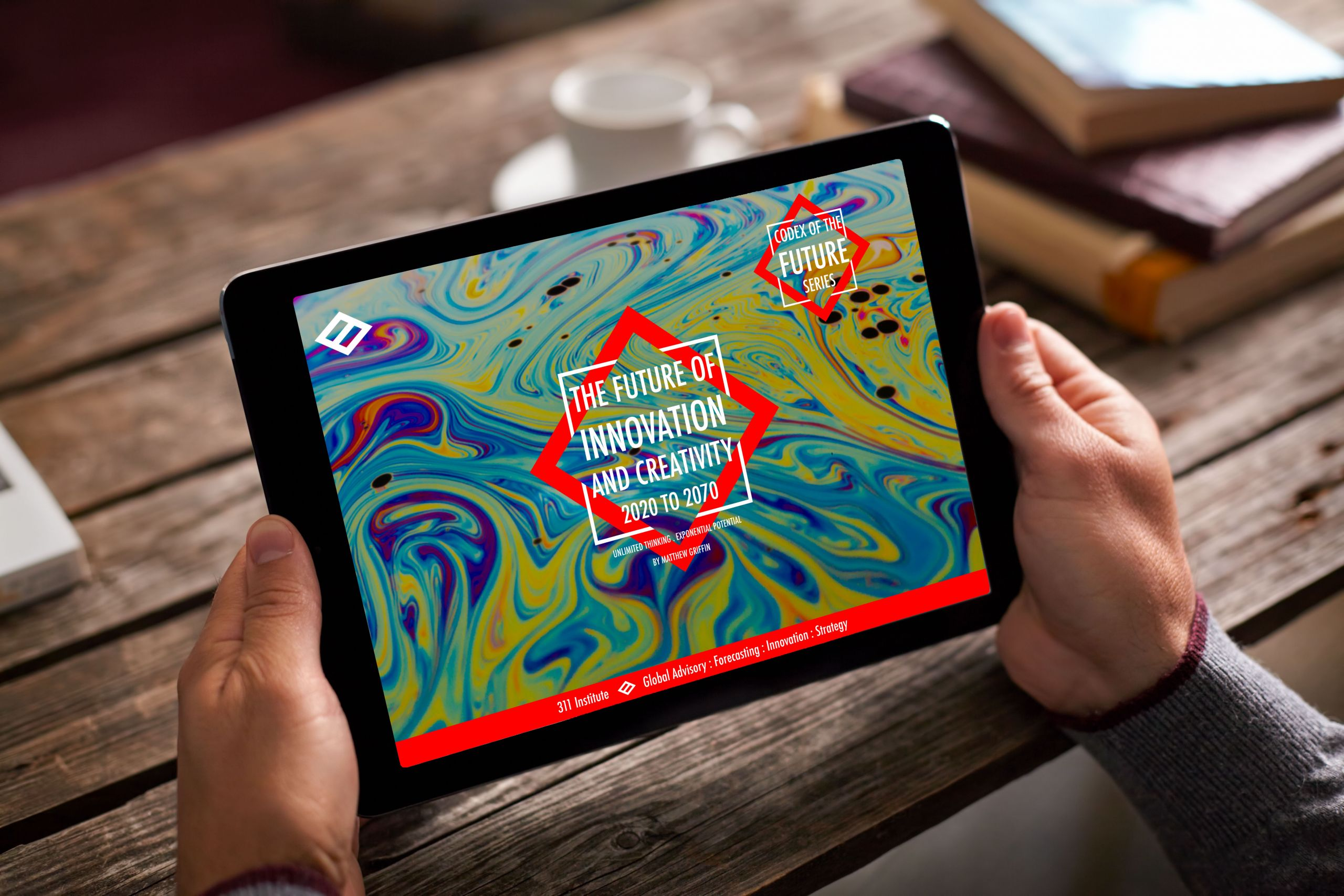 Future of creativity and innovation On IPad