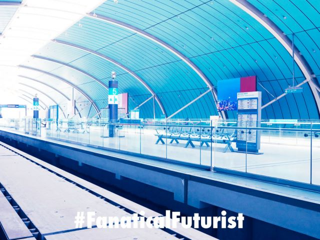 futurist_maglev_train